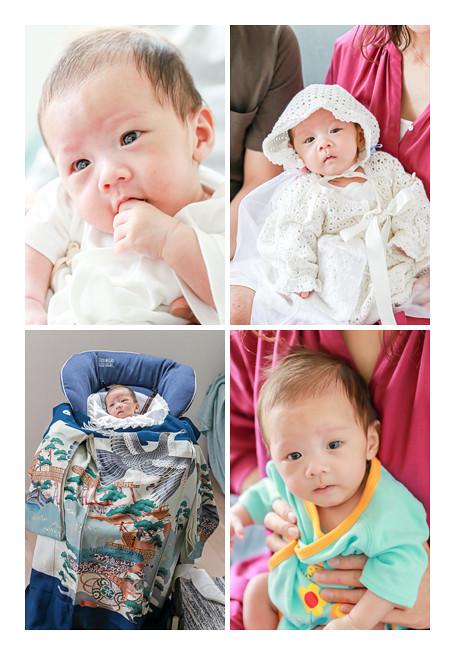 2か月の赤ちゃん ご自宅へ出張撮影