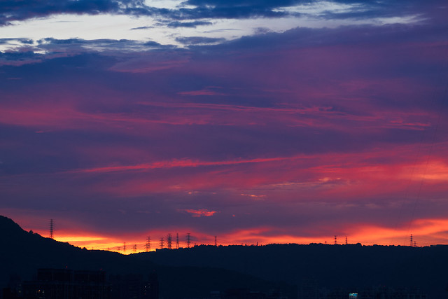 久違的夕陽紅 Long-lost sunset red