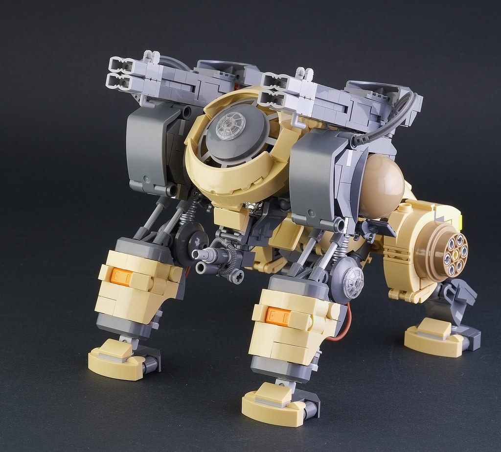 "Lego Mecha Beast ""B. B. Kong"" (custom built Lego model)"