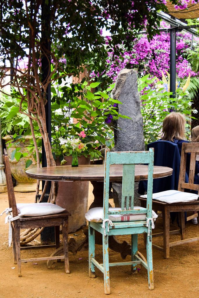 Dining Room at Petersham Nurseries, Richmond