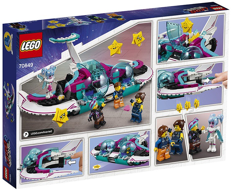 LEGO 70849 The LEGO Movie 2 WYLD-MAYHEM STAR FIGHTER
