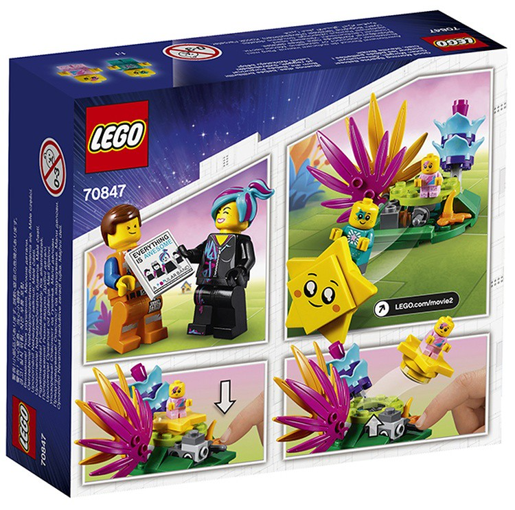 LEGO 70847 The LEGO Movie 2 GOOD MORNING SPARKLE BABIES!