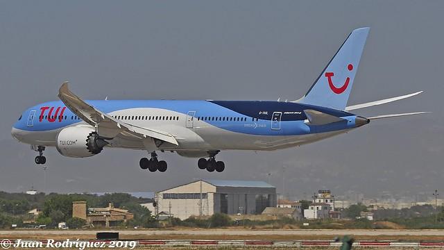 G-TUIL - TUI Airways - Boeing 787-9 - PMI/LEPA