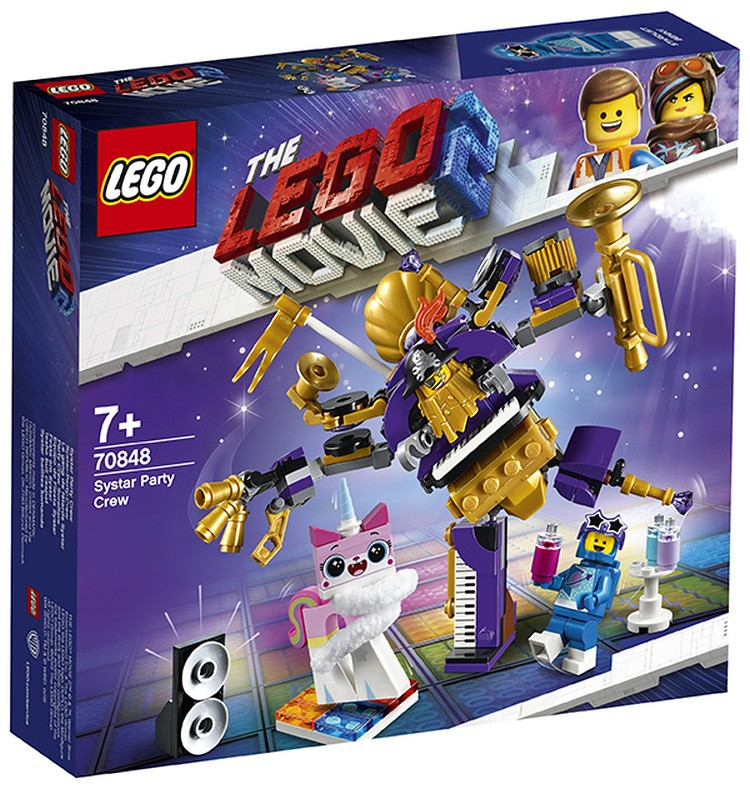LEGO 70848 The LEGO Movie 2 SYSTAR PARTY CREW