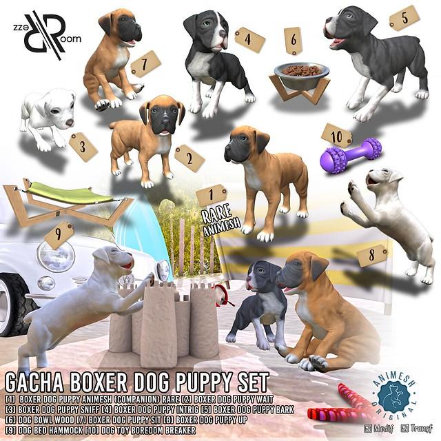Puppy Boxer Gacha Set ( Animesh ) @ Equal10