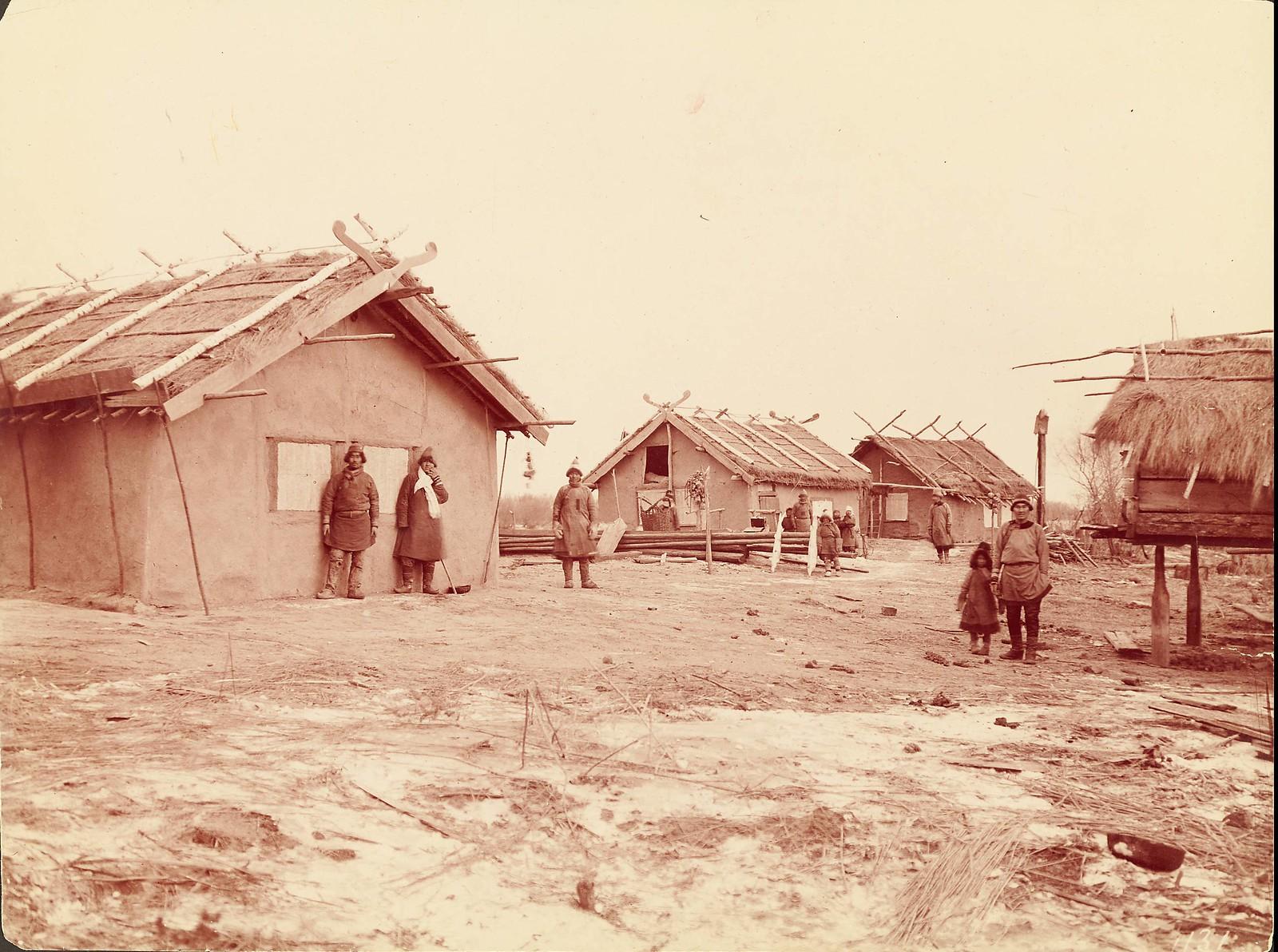 В деревне гольдов к северу от Хабаровска