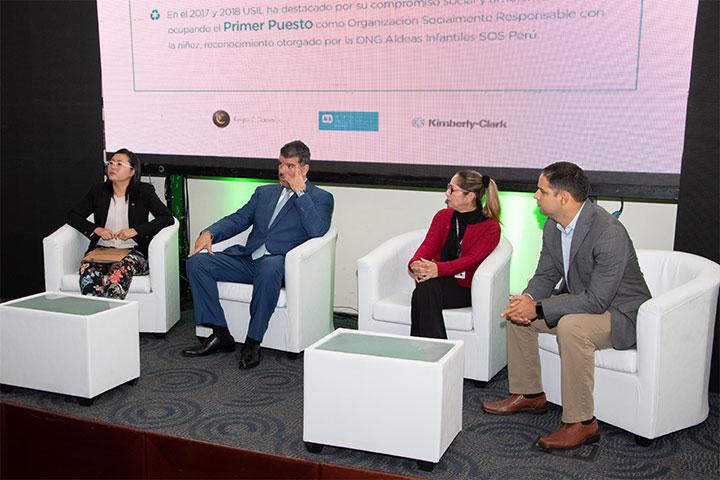 """USIL inauguró la quinta edición de la campaña """"Ecolegio, tu acción tiene eco"""""""