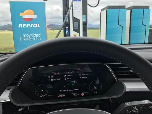 Repsol con IBIL recargan a 145 kW en Lopidana