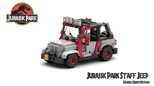 Jurassic Park Staff Jeep Instructions - Now Available
