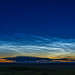 Noctilucent Cloud Panorama on June 19, 2019