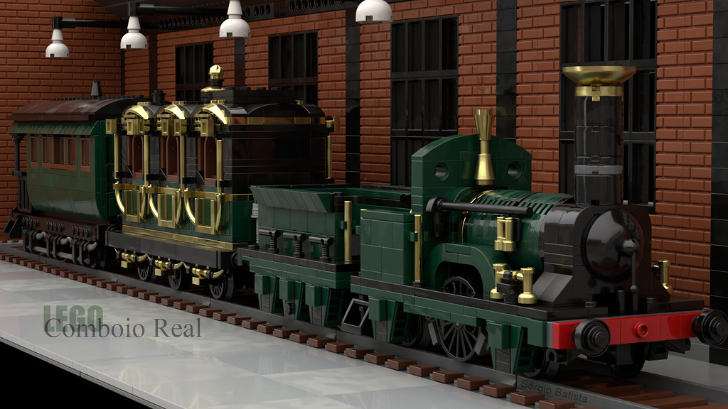 LEGO - Portuguese Royal Train | Comboio Real Português