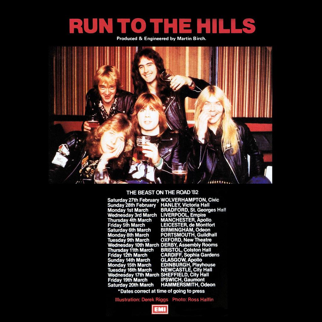 Iron Maiden – Run To The Hills