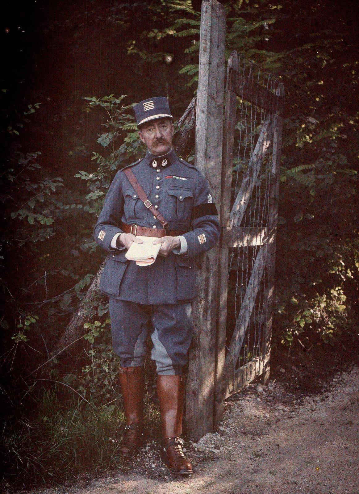 1918.  Подполковник французских служб здравоохранения (Франция)