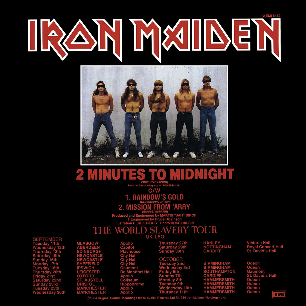 Iron Maiden ‎– 2 Minutes To Midnight