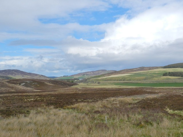 Across the moor from near Dunmaglass, Strathnairn, May 2019