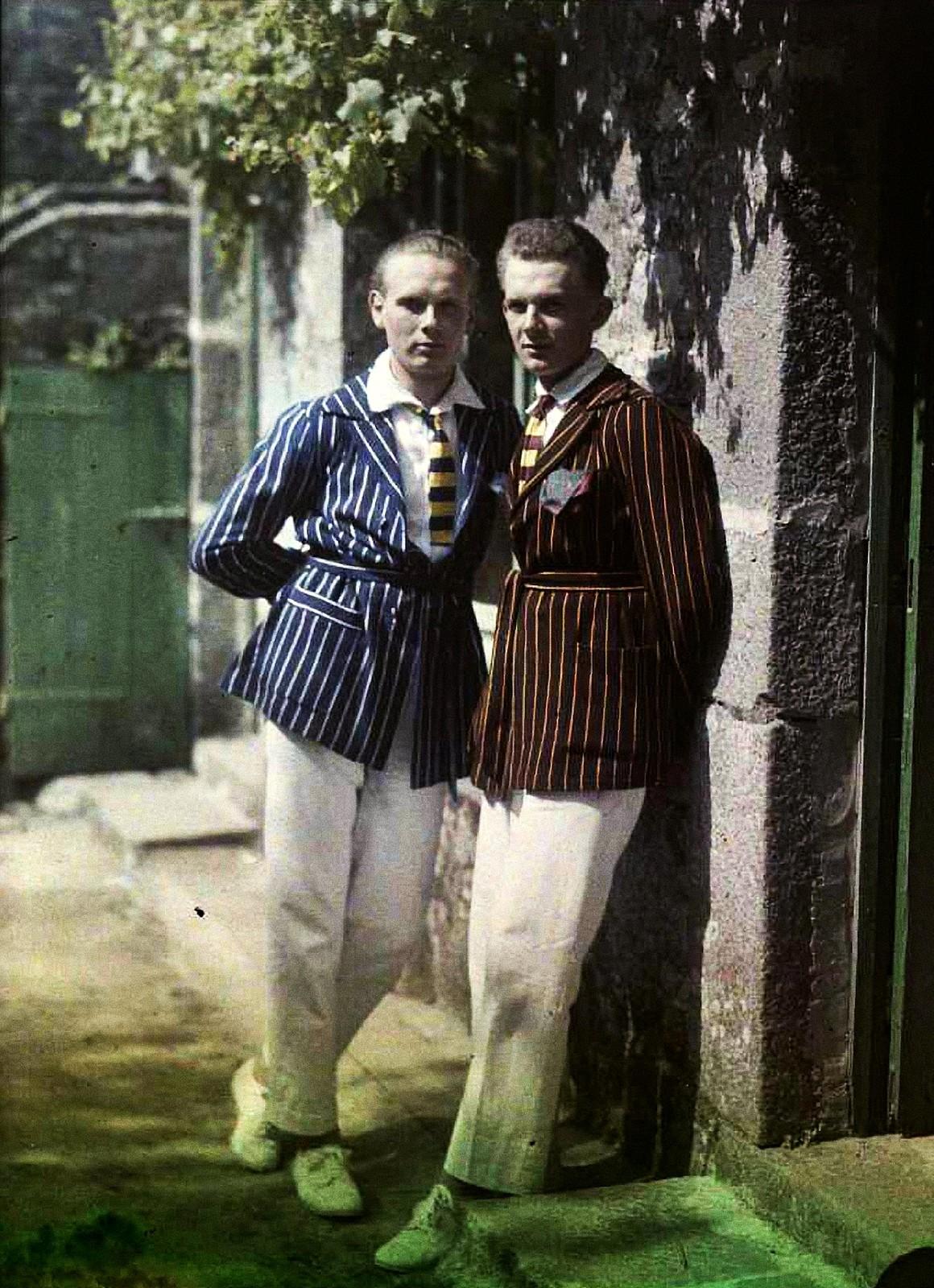 1921. Пьер и Андре Гейн