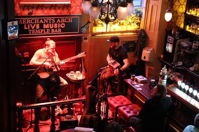 Música en los oubs más bonitos de Dublín