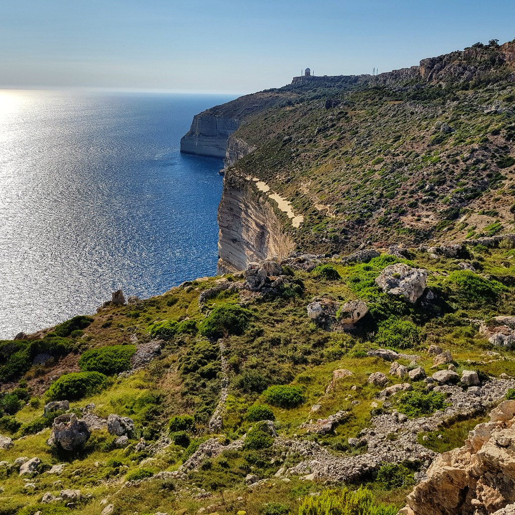 Dingi cliffs, Malta