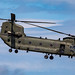 RAF Boeing HC4 CH47 Chinook Helicopter.