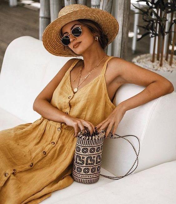 vestidos imprescindibles para este verano summer dresses street style outfit 20196