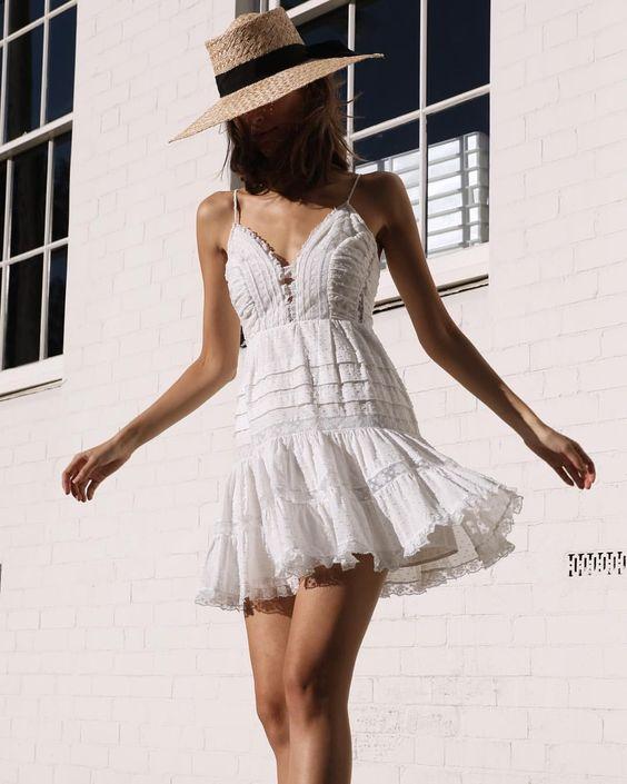 vestidos imprescindibles para este verano summer dresses street style outfit 20198