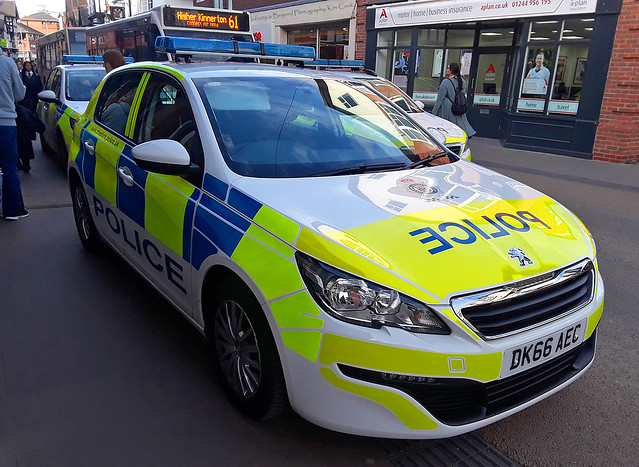 Cheshire Police Peugeot