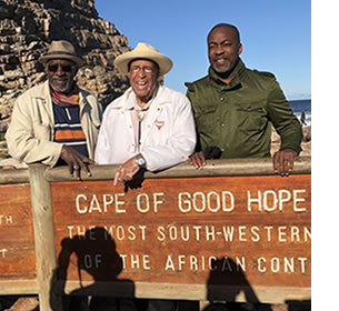 Parker, Dixon and Moore at the Cape of Good Hope