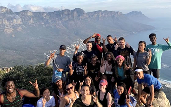 UT Students in South Africa