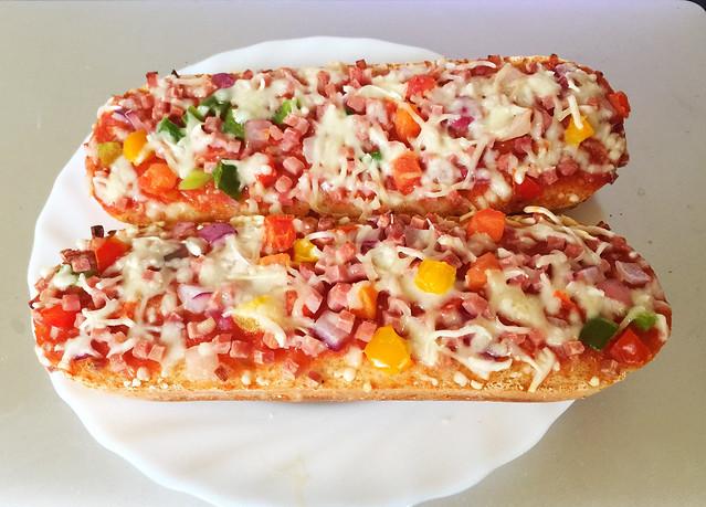Ham baguette / Schinken-Baguette