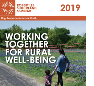 HOGG's Robert Lee Sutherland Seminar ad, mom and child walking rural road