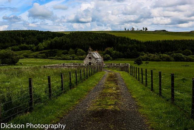 Cranshaws Kirk nr Duns in the Scottish Borders