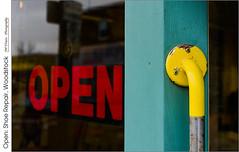 Open: Shoe Repair, Woodstock