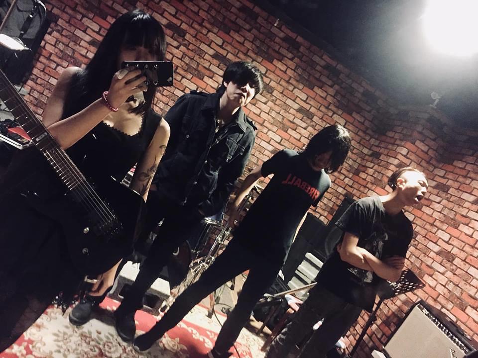 台北新生代金屬樂團 白華Efflore 首支單曲字幕影音 夜夢迴