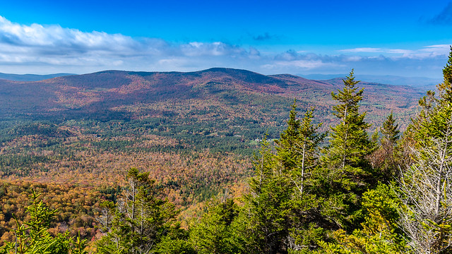 Bald Peak outlook.