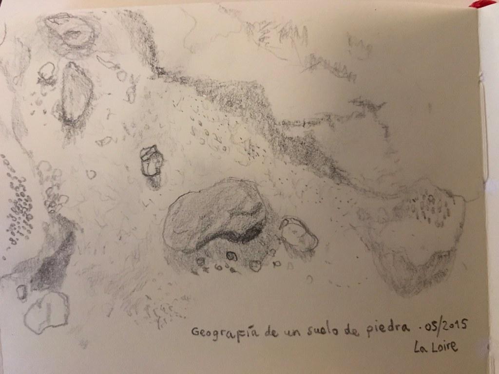 Geografía de un suelo de piedra