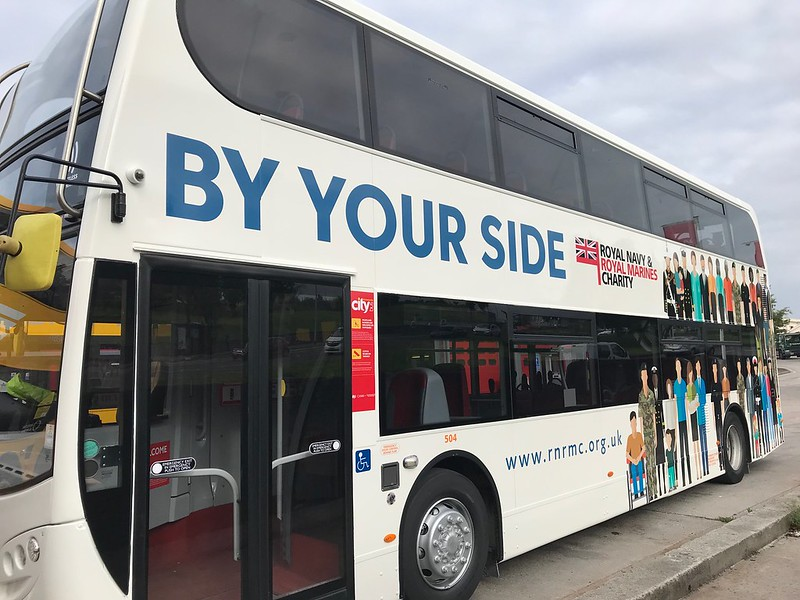 Plymouth Citybus 504 By Your Side
