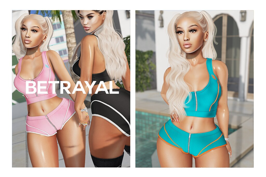 Mya Brief Set @ SHINY SHABBY