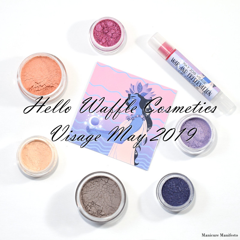 Hello Waffle Visage May 2019 swatch review