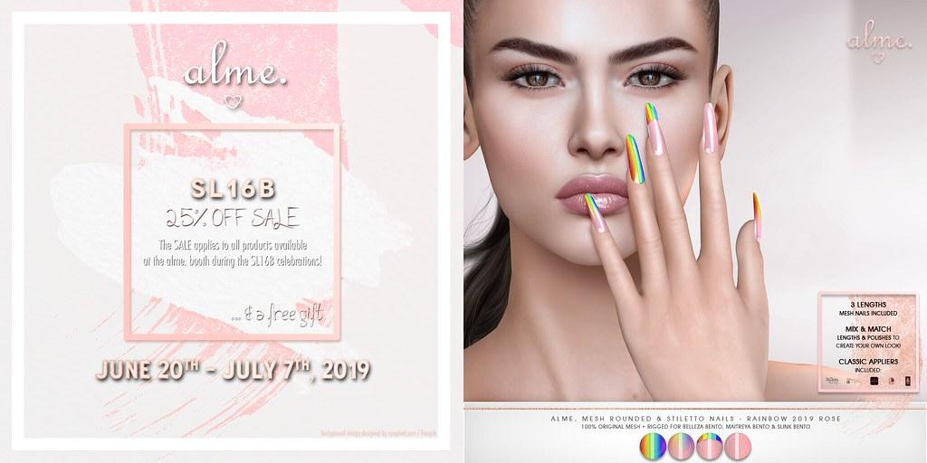 Alme for SL16B Sales!!! <3 | Alme  in Second Life for SL16B … | Flickr
