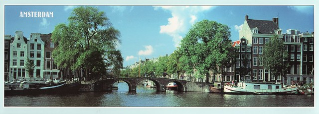 ,Netherlands - Amsterdam (The Amstel River)