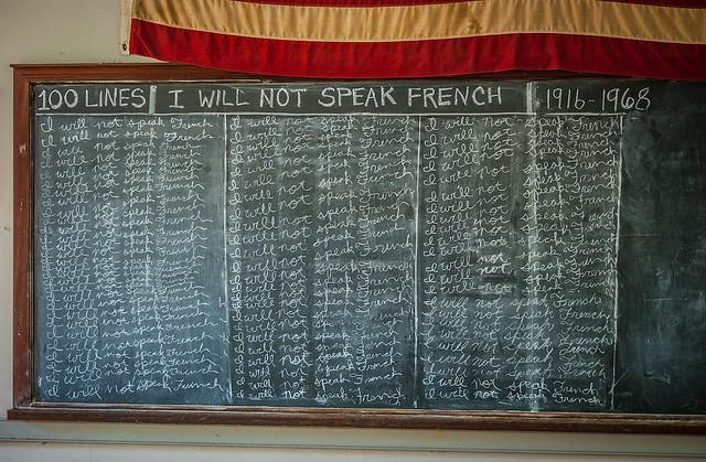 I will Not Speak French