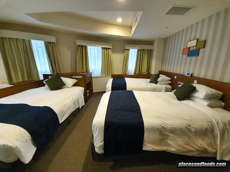 shinjuku washington hotel 3 bed room