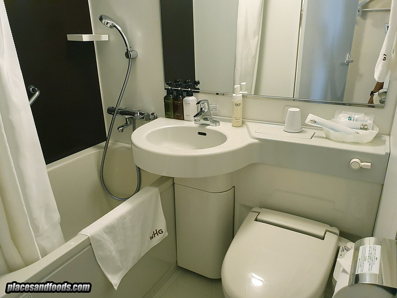 shinjuku washington hotel bathroom