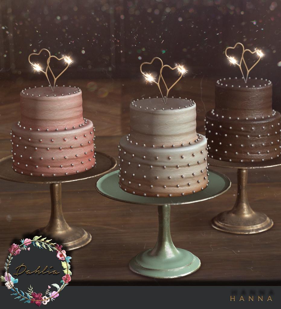 Dahlia – Hanna – Birthday Cakes – SLBDAY