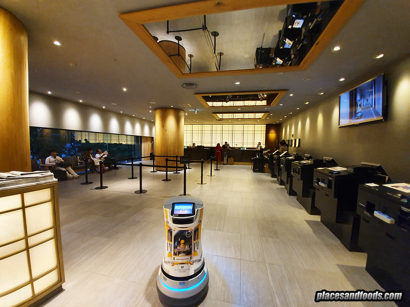 shinjuku washington hotel robot
