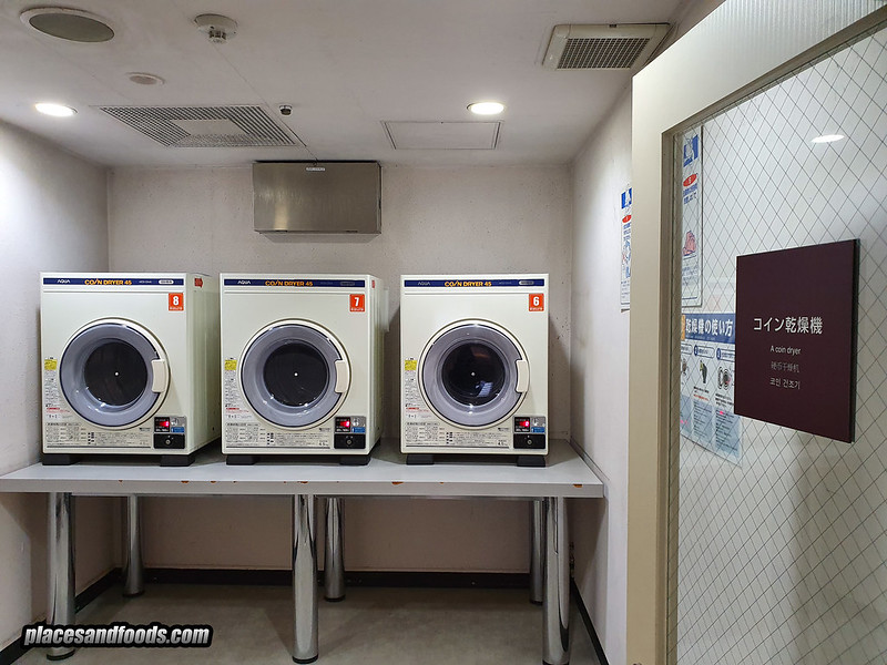 shinjuku washington hotel laundry