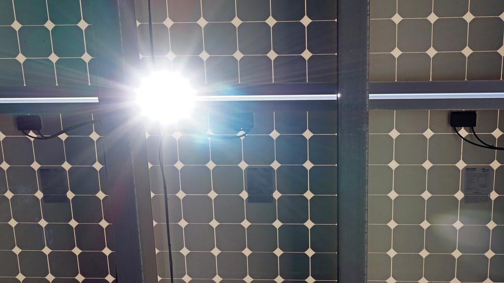 太陽能板。圖片來源:Damian Gadal(CC BY 2.0)