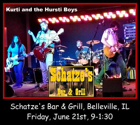 Kurti and the Hursti Boys 6-21-19