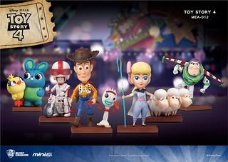 就讓玩具總動員的大家佔滿你的桌子吧!! 野獸國 Mini Egg Attack 系列《玩具總動員4》Toy Story 4 MEA-012
