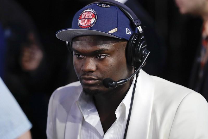 Zion Williamson成為2019年NBA選秀狀元。(達志影像)